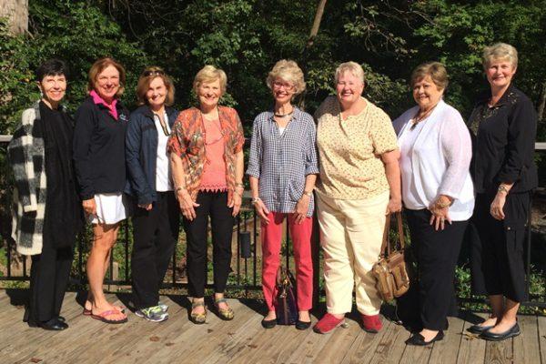 Members at Dunwoody nature center