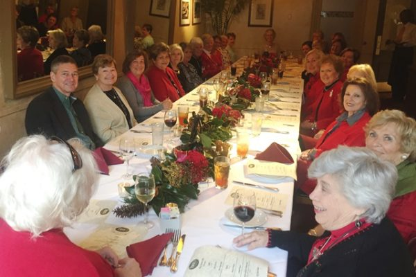 holiday luncheon at brio