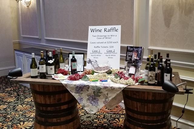 AA Wine Raffle Table
