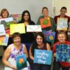 Spruill Arts painting session
