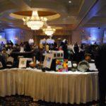 silent auction table