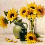 "Pat Fiorello, ""Sunny Days"", oil, 16 x 20 in, $2400, Instructor of Drawing & Painting"