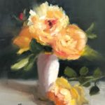 "Pat Fiorello, ""Love Light"", oil, 10 x 8 in, $300, Instructor of Drawing & Painting"